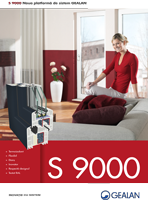 Gealan S 9000 brochure in PDF
