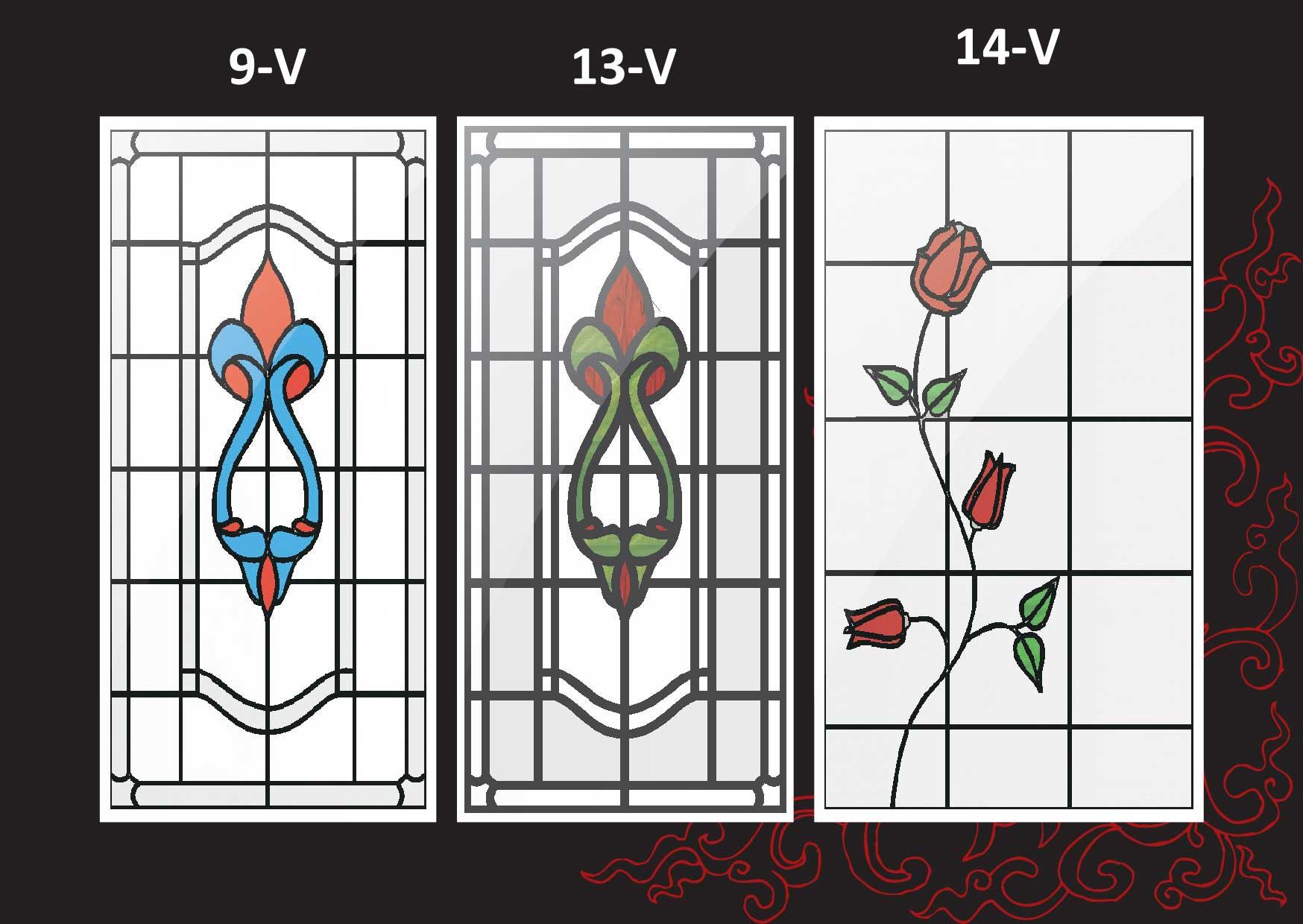 Modelos de puerta con vidrio grabado metal glass - Modelos de vidrieras ...