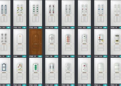 Modele de uși cu panel ornamental