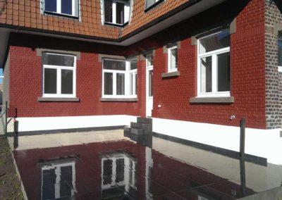 Fenetres et portes en PVC avec profils Gealan installees a Zaventem en Belgique