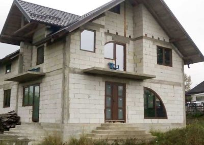Montaj ferestre PVC cu arcada in Targu Neamt