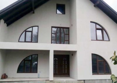 Montaj tamplarie PVC cu toc curbat in Targu-Neamt