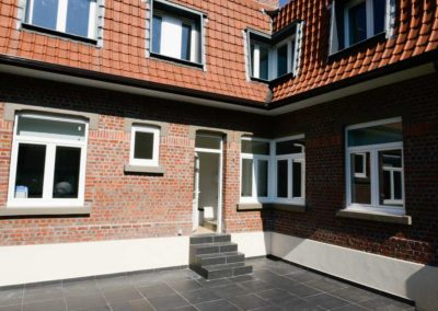 New windows and doors Gealan installed in Zaventem Belgium