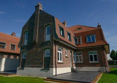 Nouvelles fenetres et portes en PVC Gealan installees a Zaventem en Belgique